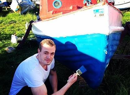 Bundmaling af båd / jolle