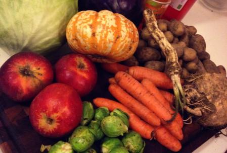 grøntsager fra Københavns fødevare fællesskab