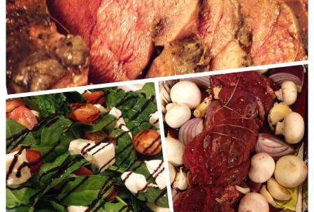 tilberedning af rådurbov og salat