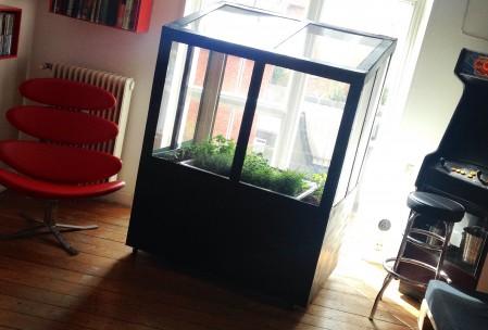 Drivhus med aquaponic