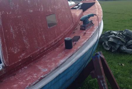 Maling af båd