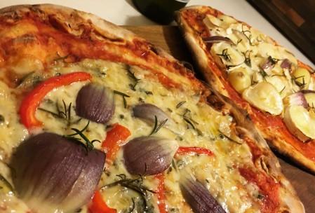 Hurtig nem pizza